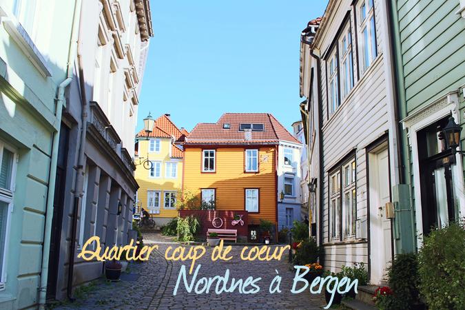 Quartier coup de coeur : Nordnes à Bergen